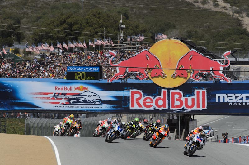 MotoGP2013Chang 9 Red Bull US Grand Prix Laguna Seca Circuit Nua chang duong