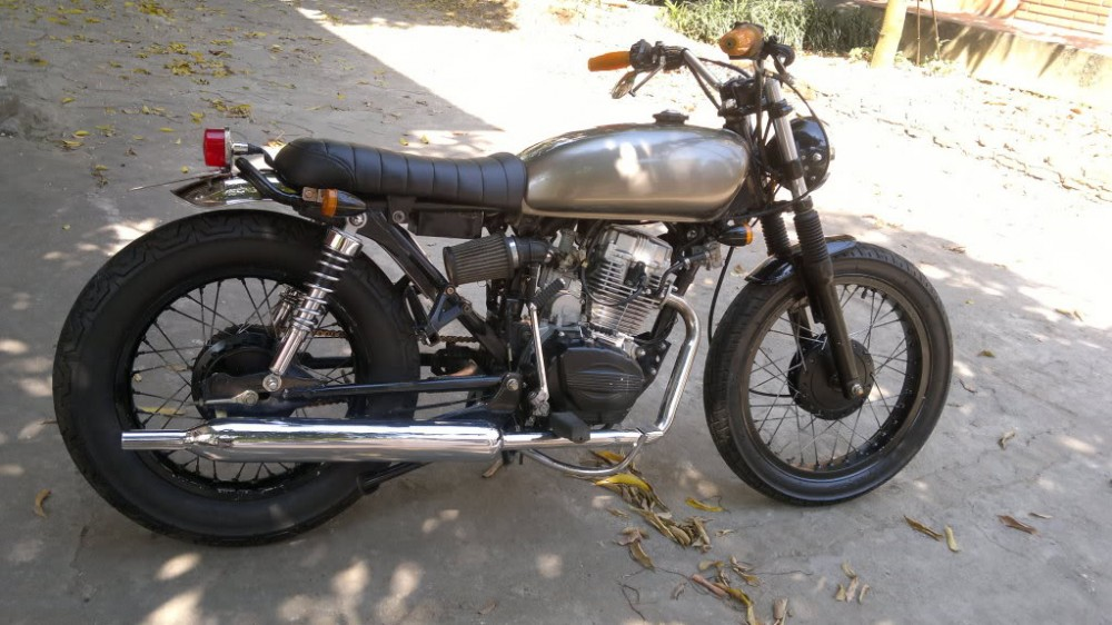 SYM Wolf 125cc net do dam chat Cafe Racer - 3