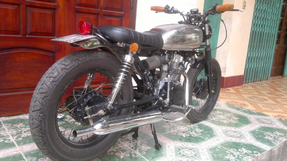 SYM Wolf 125cc net do dam chat Cafe Racer - 7