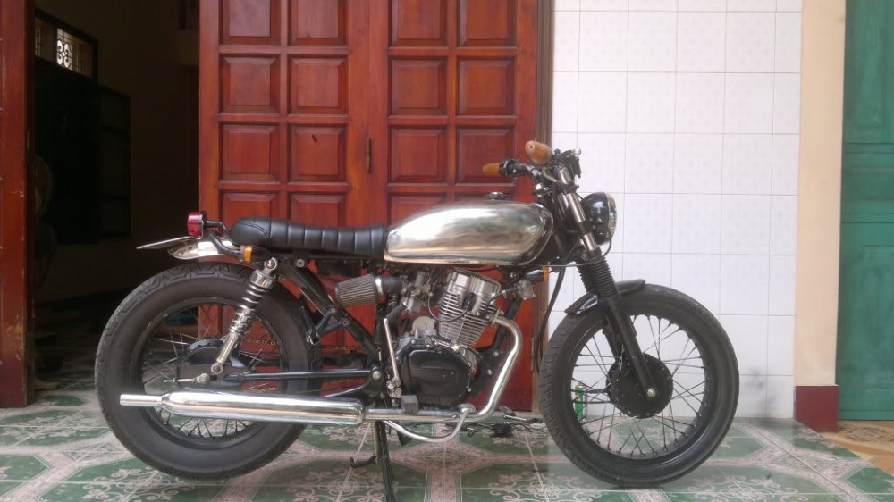 SYM Wolf 125cc net do dam chat Cafe Racer - 6