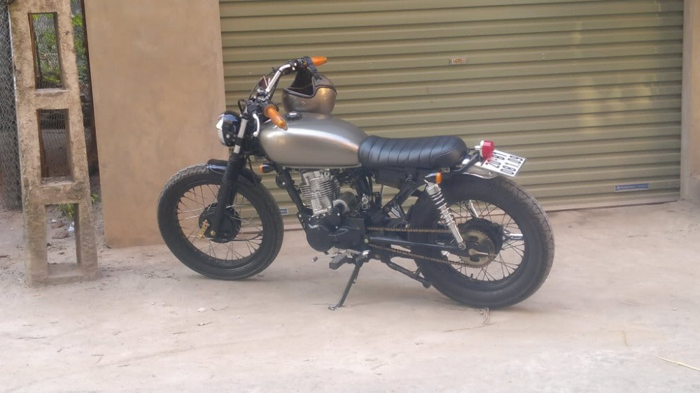 SYM Wolf 125cc net do dam chat Cafe Racer - 4