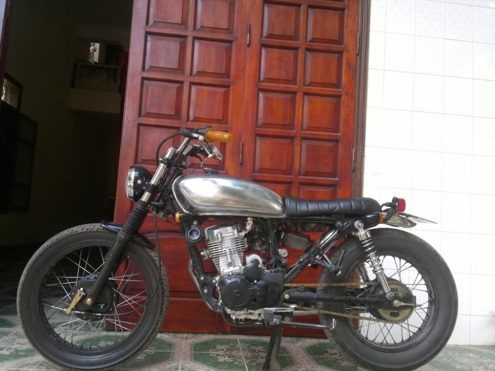 SYM Wolf 125cc net do dam chat Cafe Racer - 5