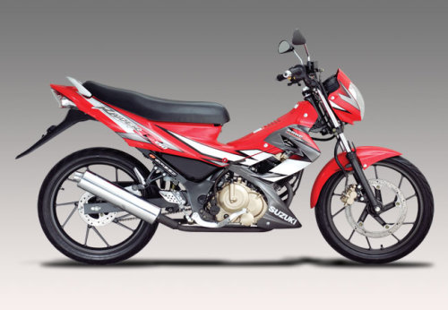 Suzuki Raider 150 sap co doi thu den tu Honda