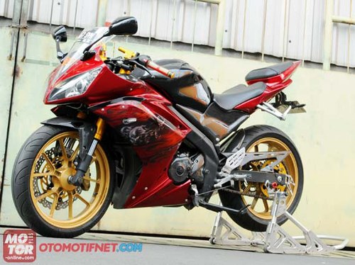 Yamaha Vixion bien thanh supersport R6 - 2