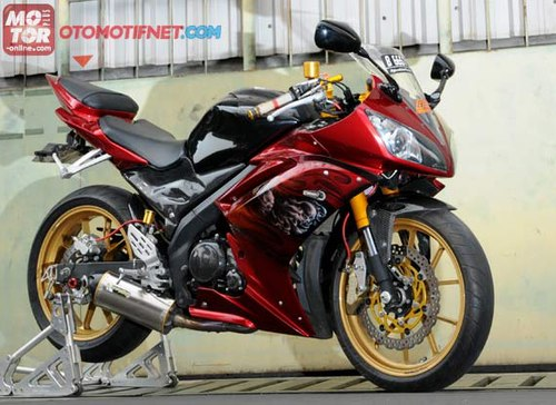 Yamaha Vixion bien thanh supersport R6 - 3