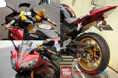 Yamaha Vixion bien thanh supersport R6 - 4