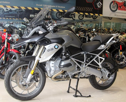 BMW R1200GS 2013 ve Viet Nam