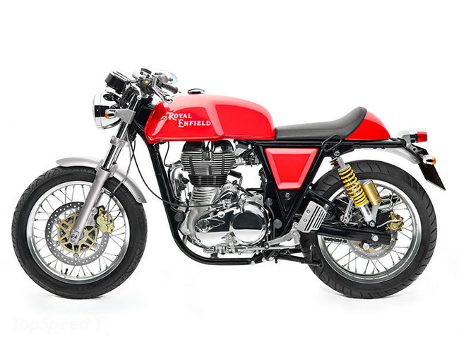 Royal Enfield Continental GT Cafe Racer 2014 chinh thuc ra mat - 3