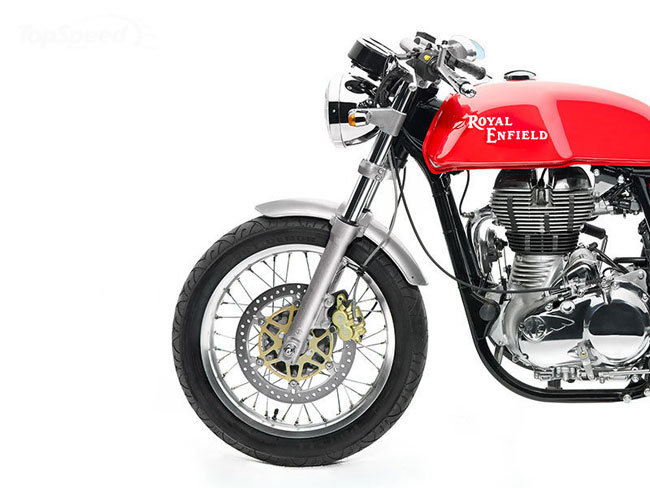 Royal Enfield Continental GT Cafe Racer 2014 chinh thuc ra mat - 14