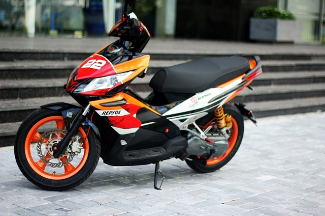 Mau teen do dang voi Honda Air Blade do o Sai Gon - 6