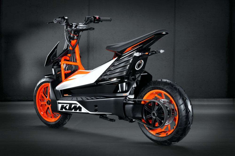 KTM ESpeed electric scooter prototype - 4