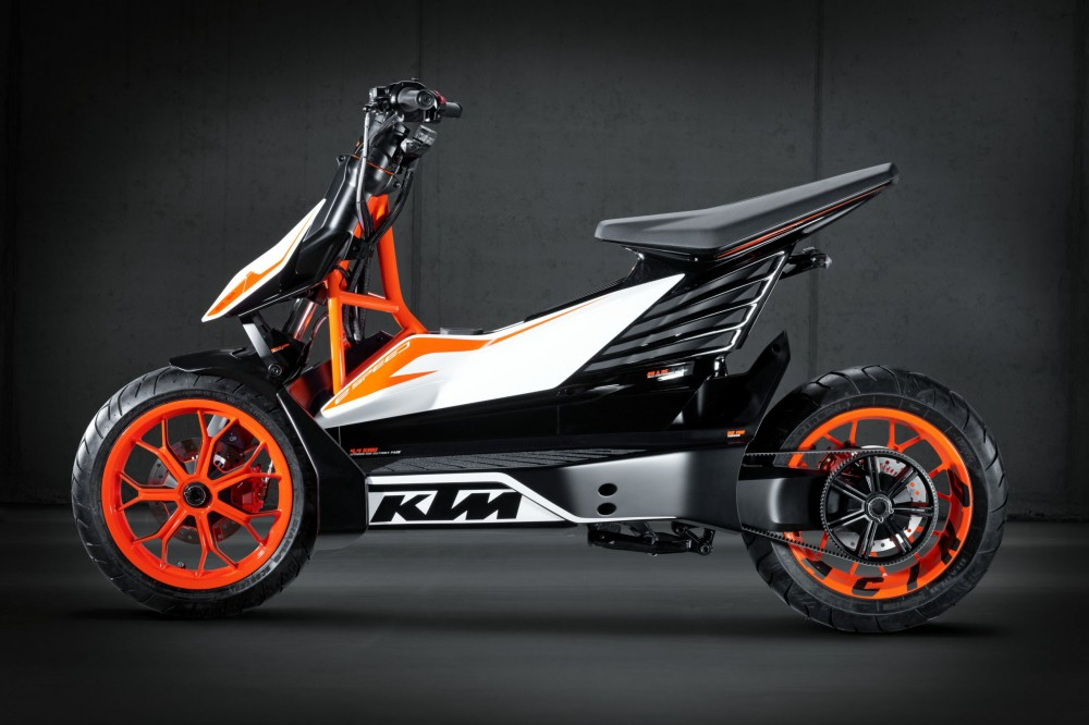 KTM ESpeed electric scooter prototype