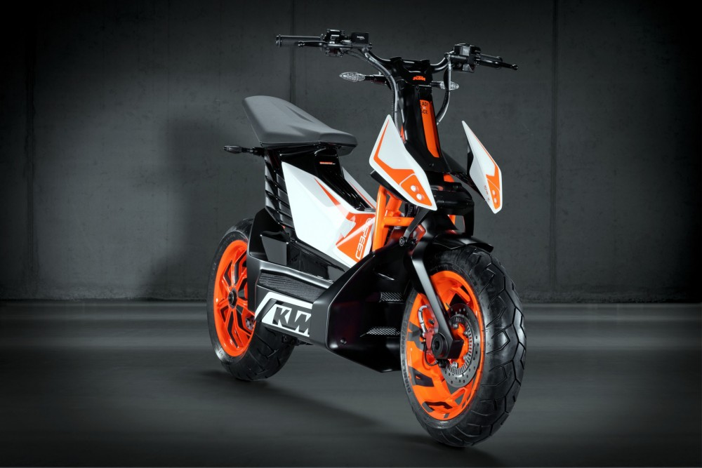 KTM ESpeed electric scooter prototype - 3