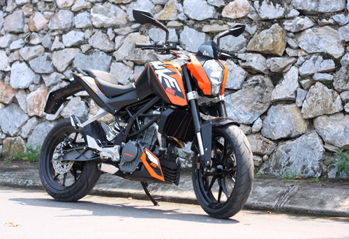 KTM Duke 125 ABS 2013 co mat tai Viet Nam