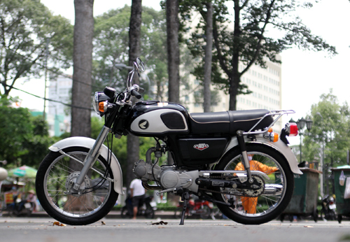 Hang doc Honda CD90S doi 1998 tai Viet Nam