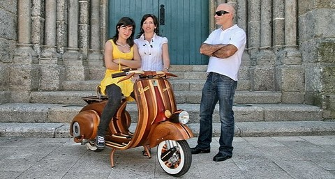 Vespa bang go khong gi la ko the - 15