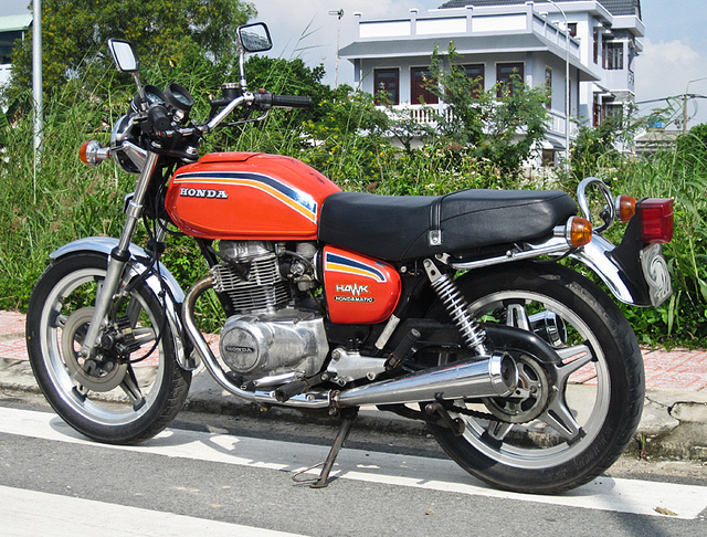 Mo to co Honda CB 400A Hondamatic 1978 hang hiem tai Viet Nam - 4