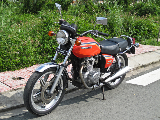 Mo to co Honda CB 400A Hondamatic 1978 hang hiem tai Viet Nam - 26