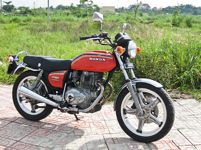 Mo to co Honda CB 400A Hondamatic 1978 hang hiem tai Viet Nam