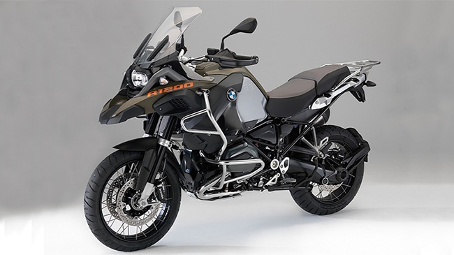 He lo hinh anh moi cua BMW R1200GS Adventure 2014