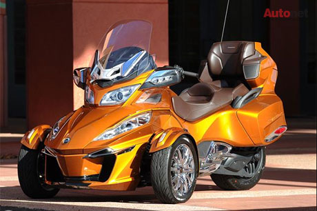 CanAm Spyder RT 2014 co gia khoang 22999 USD - 7