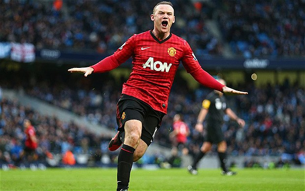 Rooney tung rat han Sir Alex chi vi Van Persie - 8