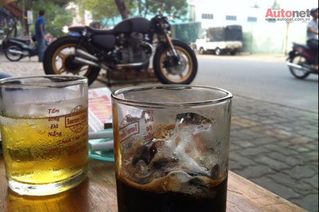 Honda GL400 do Cafe racer doc dao tai Viet Nam - 8