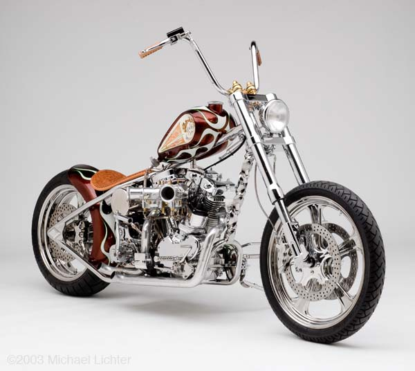 Indian Larry Wild Child Moto 750000 USD cho nha giau - 2