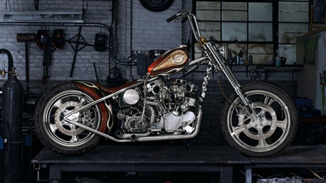Indian Larry Wild Child Moto 750000 USD cho nha giau