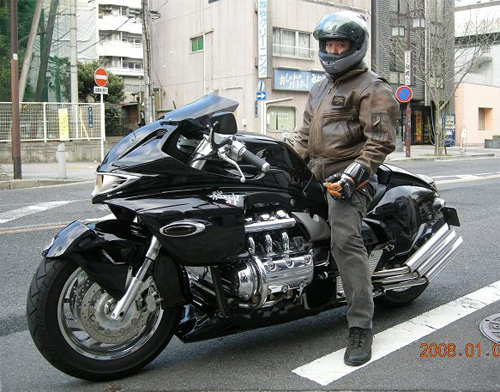 Honda Valkyrie phien ban do quai vat Dragon King - 2
