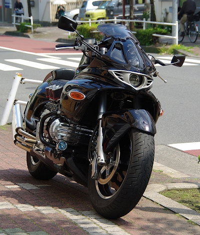 Honda Valkyrie phien ban do quai vat Dragon King - 3