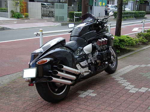 Honda Valkyrie phien ban do quai vat Dragon King - 4