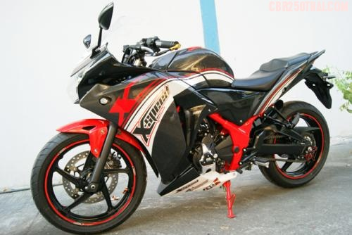 CBR 250 hang do XSpeed tu Thai Lan - 5
