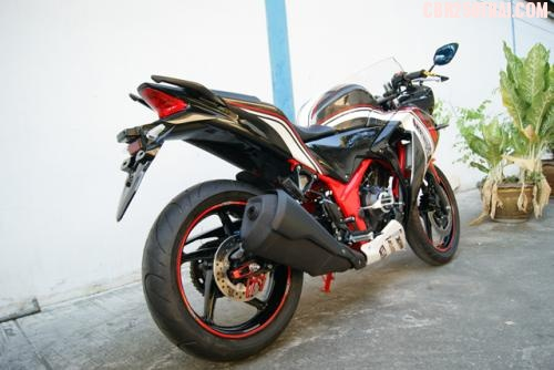 CBR 250 hang do XSpeed tu Thai Lan - 11