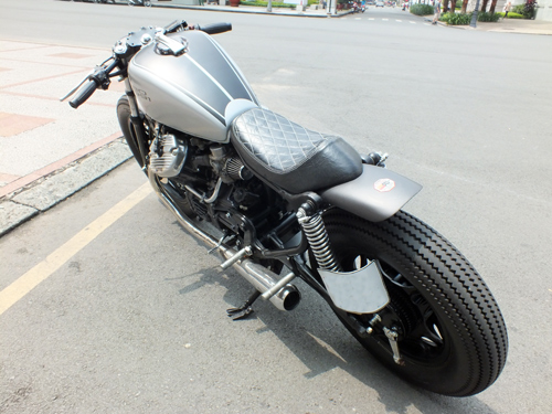 Honda GL400 do cafe racer o Bien Hoa - 4