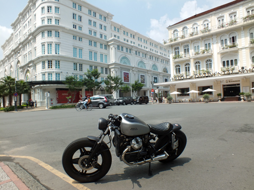Honda GL400 do cafe racer o Bien Hoa - 8