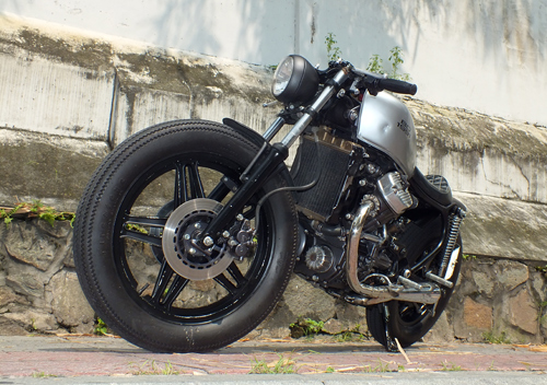 Honda GL400 do cafe racer o Bien Hoa - 2