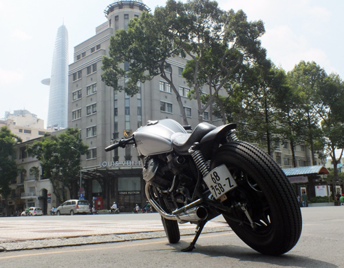 Honda GL400 do cafe racer o Bien Hoa - 6