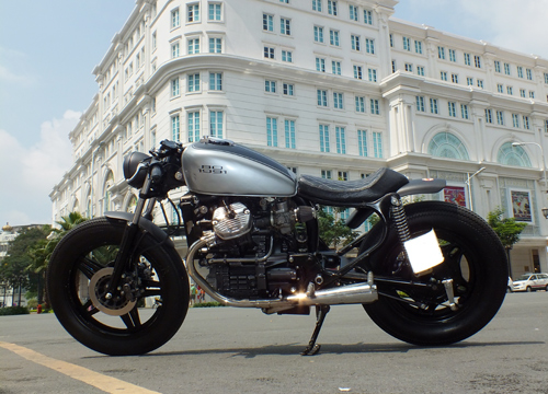 Honda GL400 do cafe racer o Bien Hoa - 3