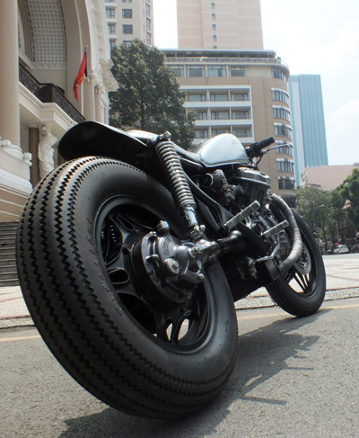 Honda GL400 do cafe racer o Bien Hoa - 7