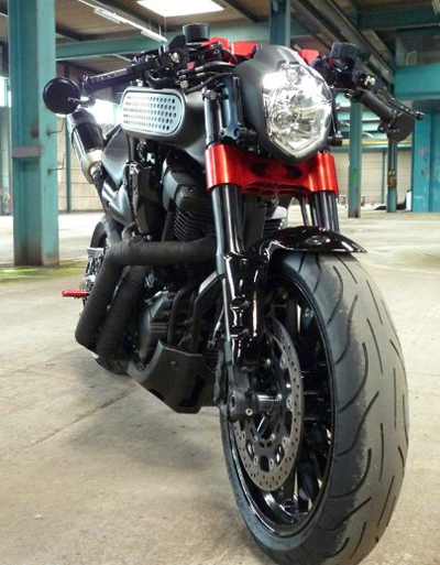 Cung ngam Yamaha MT01 do cafe racer - 8