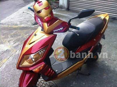 Scooter cho phim Iron Man 4