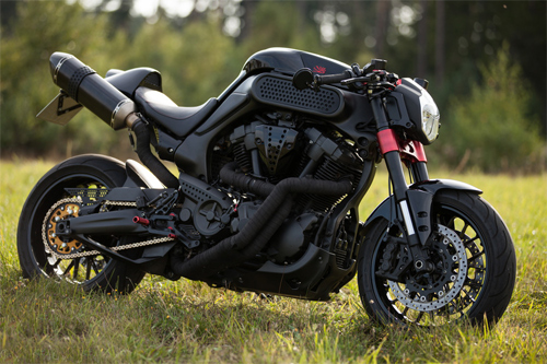 Cung ngam Yamaha MT01 do cafe racer