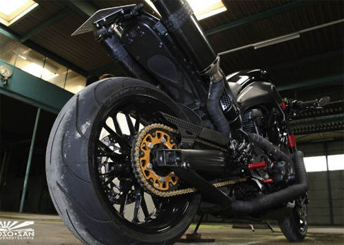 Cung ngam Yamaha MT01 do cafe racer - 5