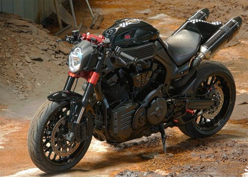 Cung ngam Yamaha MT01 do cafe racer - 4