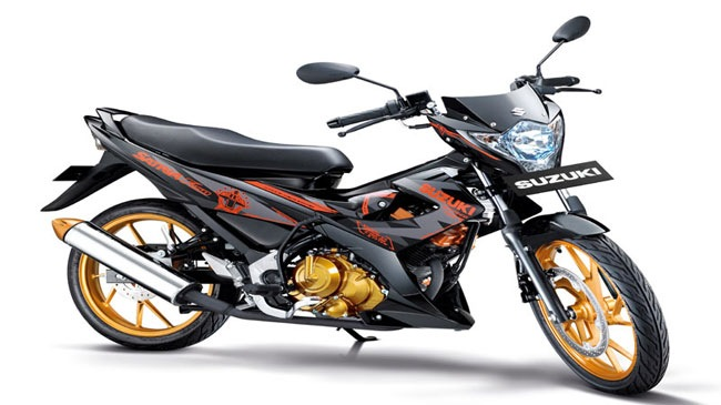Satria F 150 Fighter 1 Special Edition manh me day ca tinh