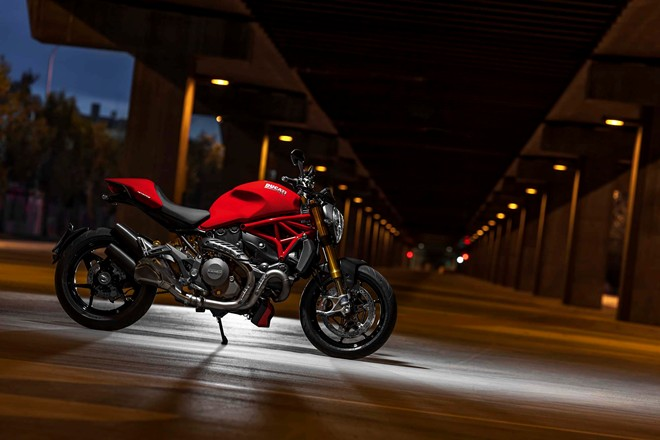 Ducati Monster 1200 va Monster 1200 S cung nhau ra mat - 9