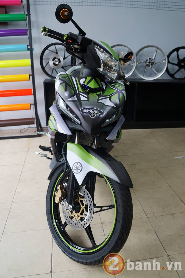 Exciter GP dan tem Dragon Tatoo tai Decal4bike - 3