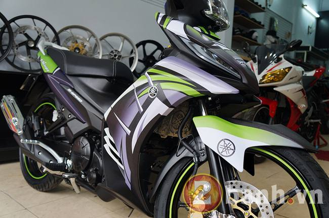 Exciter GP dan tem Dragon Tatoo tai Decal4bike - 2