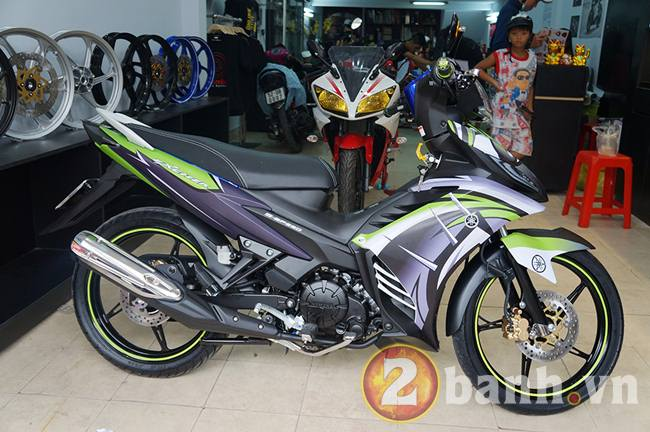Exciter GP dan tem Dragon Tatoo tai Decal4bike